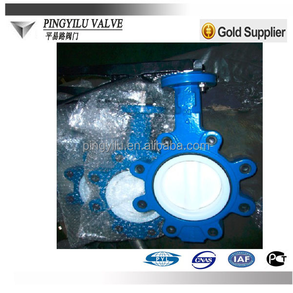 dn150 ductile iron aluminum butterfly valve handle
