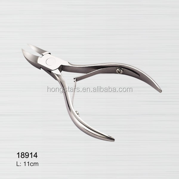 Stainless Steel Nail Nipper Sharpening Cuticle Nipper Cutter For Free Samples