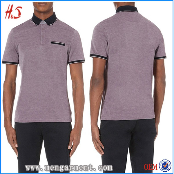 Online Shop China Bulk Clothing Manufacturer Custom Fashion 100% Cotton Pocket Polo Shirts