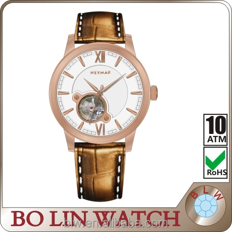2015 charming stainless steel watch water resistant wholesale, skeleton watch online shopping