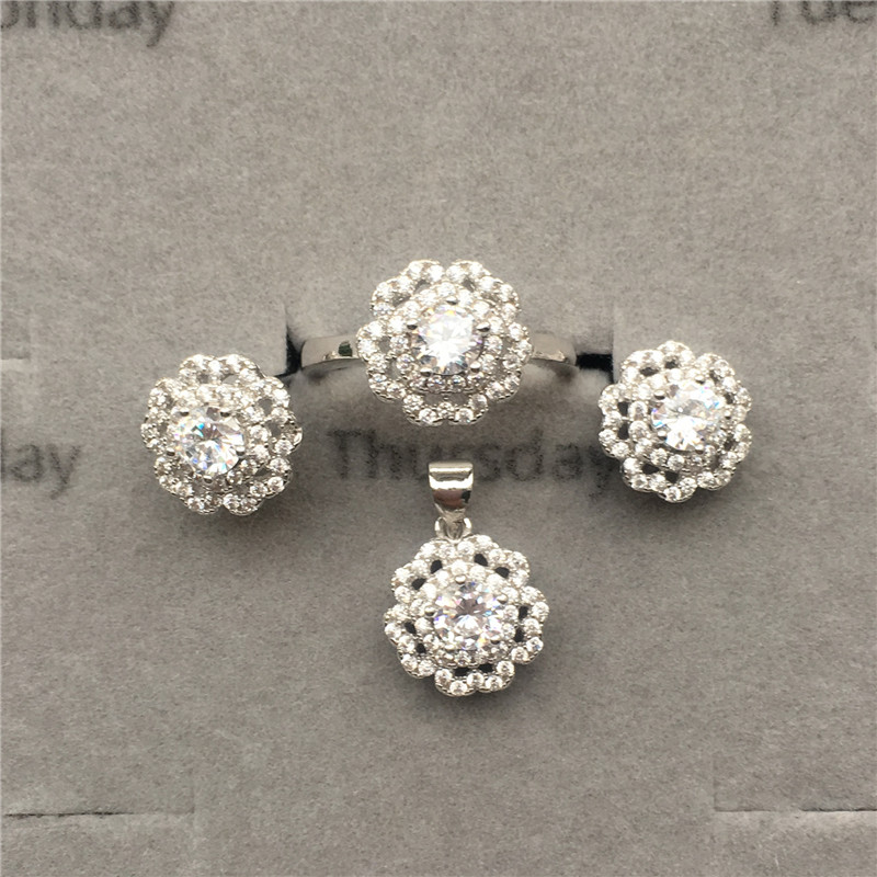 online shop china ladies jewellery 925 sterling silver stone jewelry <strong>set</strong>
