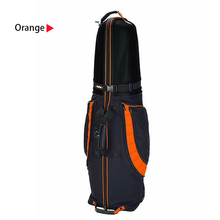 2018 New Folding Waterproof Top Hard Golf Travel Cover Bag Shockproof Airplane Golf Travel Bag with Wheels OME Logo
