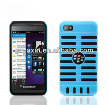 For BlackBerry Z10 BB10 Hybrid Rugged Armor Hard Shell PC Soft silicone Case Cover