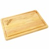 Hot sale rectangle shaped laser engraved oak wood chopping /cutting board