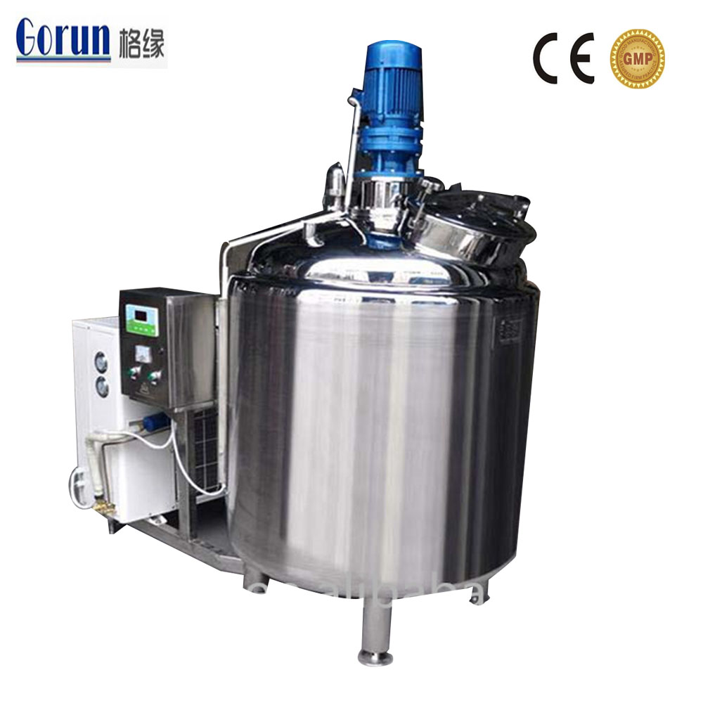 Aisi Stainless Steel Milk Cooling Tank For Sale