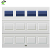 Automatic stacking Sectional aluminum glass garage door