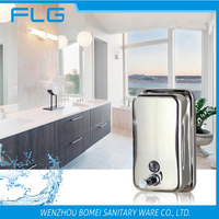 Simple Beauty Wall Mounted Stainless Steel Towel Soap Dispenser 800ML BM1618
