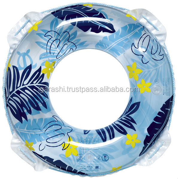 Inflatable swimming ring nice design beach pool sea in summer