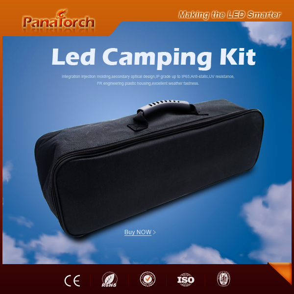 PanaTorch Outdoor Adventure Led Light Bar Kit IP65 Waterproof PS-B5221A cigarette plug with packing bag
