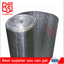 HVAC Factory fireproof flame retardant bubble wrap aluminum foil thermal heat insulation material