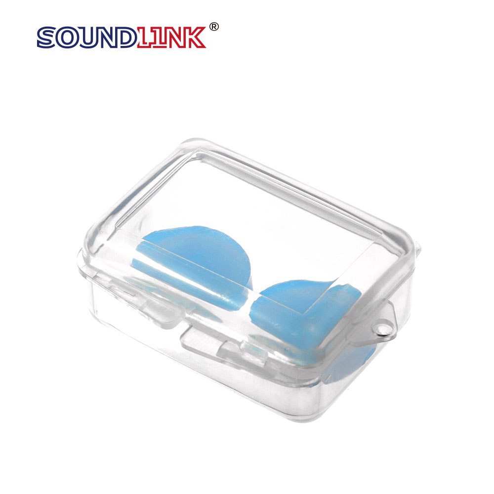 Hot sale silicon disposable ear plug, sleeping ear plug