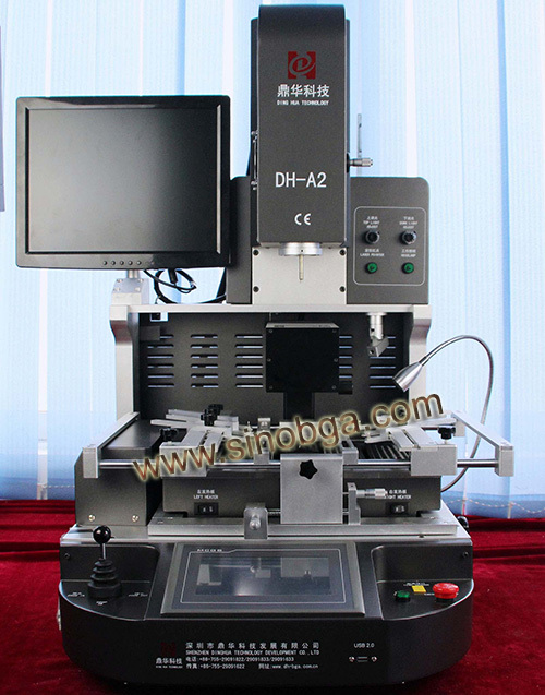 Dinghua Semi-auto BGA rework station with optical alignment system DH-A2