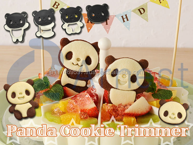kitchenware cookware equipment dessert product gift toy lunch box snacks cutter molds plastic food sweets panda cookie trimmer