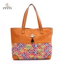 2017 hot selling fashion joker lady bag womens bags italian leather handbag