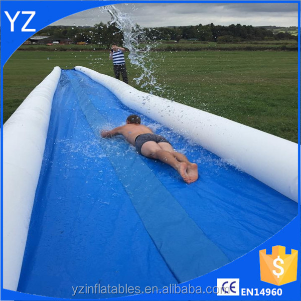 2016 Crazy and Popular Slip n Slide Largest Inflatable Slide The City