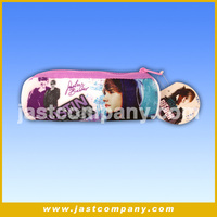 Justin Bieber Gift Pencil Case Of Fashion, Zipper Pencil Case With Sound, Music And Wholesale Pencil Case