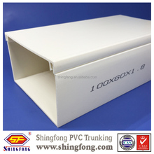 Good Quality Wiring Cable pvc trunking/ PVC Electrical&cable for Singapore Market