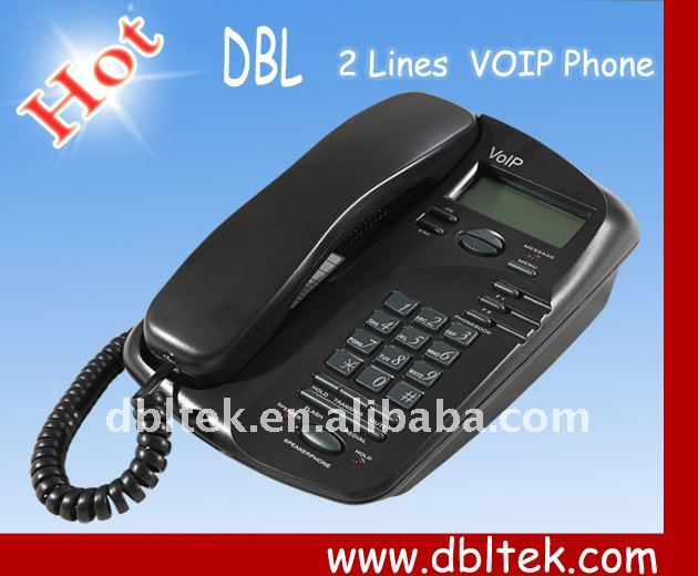 VoIP IP Phone Ideal Business and Residential IP Phone Support Dynamic Selection of Codec EP-636