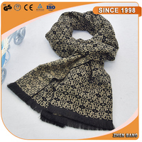 China wholesale Fashionable silk Wool scarf distributor