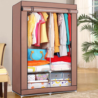 wholesale modern bedroom furniture fabric portable wardrobes almirah designs with price