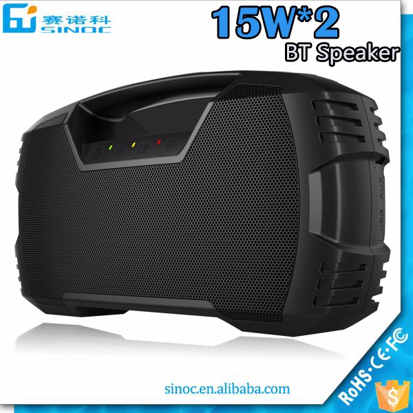 2017 Amazon best selling product custom logo flaoting bluetooth speaker 20watts TWS waterproof bluetooth