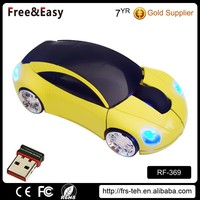 Brand car models 3D wireless optical car shaped mouse