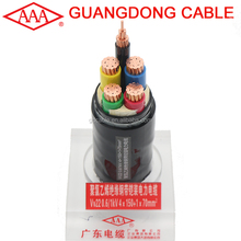 4 core 150mm and 70mm cable armour low voltage 0.6-1kv underground copper cables types for sale