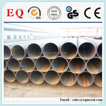 Carbon steel pipe price per meter steel pipe weight galvanized steel pipe with embossed