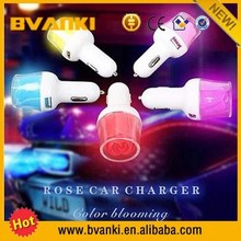 2016 new technology car accessories 12v 2a output usb car charger 2 Port car charger usb, 3.1A Fast Charge