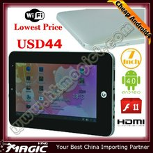 Top selling! 7 inch tablet pc android 4.0 via wm8850 mid