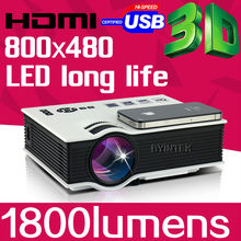 BYINTEK BT400 Home Theater Portable HDMI USB LCD LED Mini Video Micro piCo 3D Projector HD 1080P Proyector Projetor Projektor