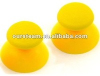 2x Yellow Thumbsticks Analogue Joystick Grips for PS2 Controller