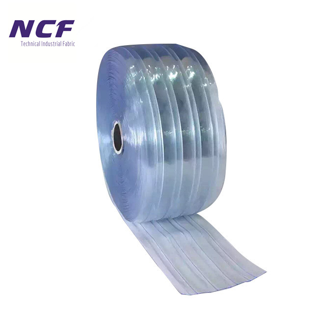 200mm <strong>PVC</strong> Anti Insect Strip Blue Super Clear Curtain Transparent Roll