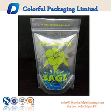 All kinds of food seeds packaging zip bag with design made in China