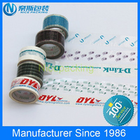 Adhesive bopp customized print tape