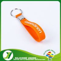 Harmless for body cheap custom silicone keychains