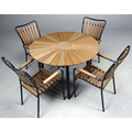 Good Quality Hot Sale Polywood Round Outdoor Patio Dining Table Sets