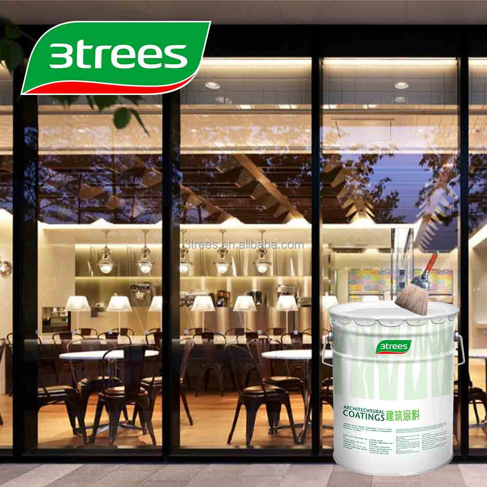 3TREES Odorless Abrasion Resistance PU Wood Paint Coating
