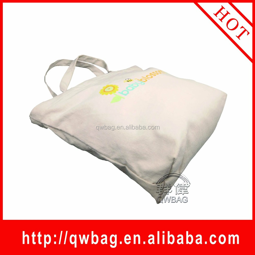 hot selling new style promotion bag canvas tote canvas cotton shopping bag