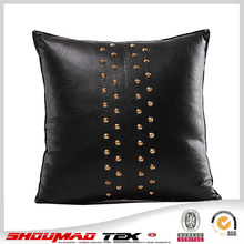 Latest design faux leather cushion for sofa
