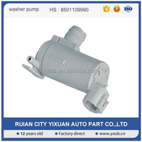 Windshield wiper motor for high pressure washer