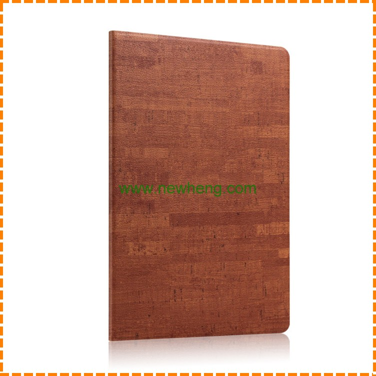 Newest Wood Grain Flip Stand PU Leather Tablet Case For Ipad mini 1/2/3
