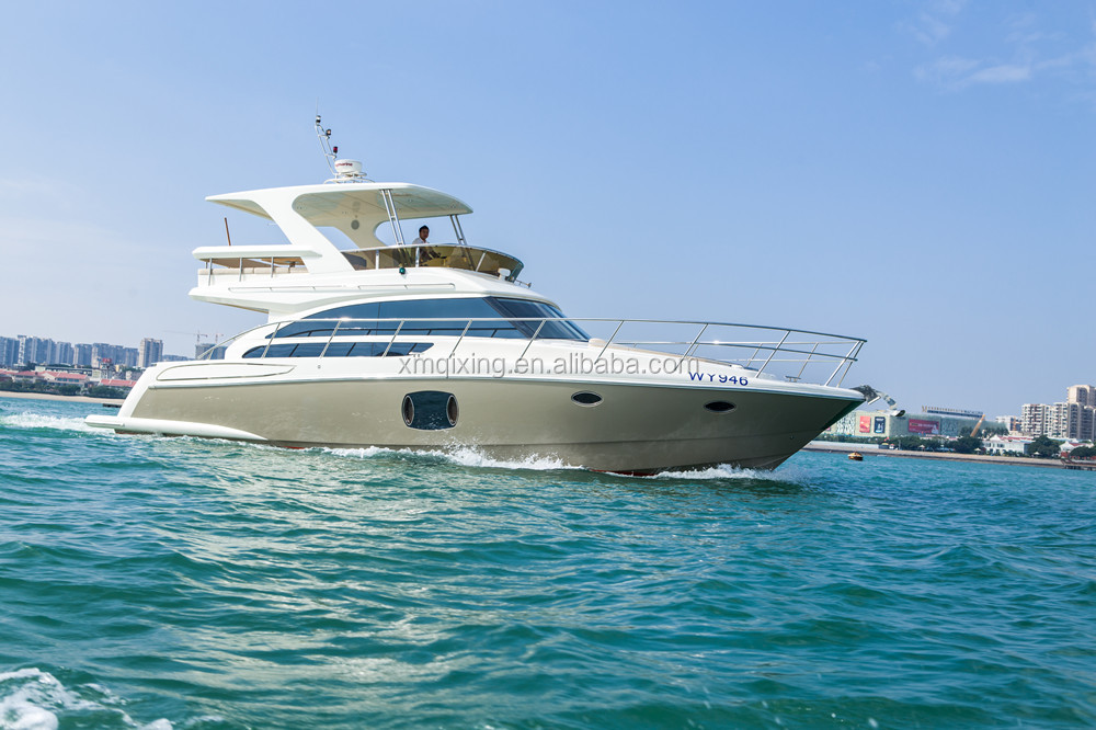 46 feet fiberglass luxury yatch high quality made in China