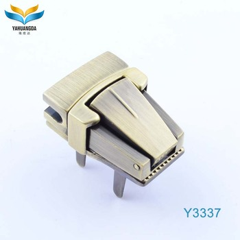wholesale hight quality cheap metal bag press lock fitting for leather handbags/handbags/bags
