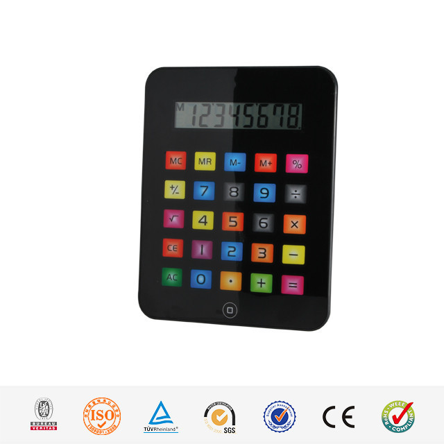 Hairong pad shaped electronic 8 digital office calculator With Large Display MD-9210B