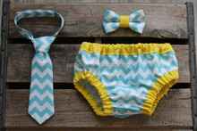 baby bloomers wholesale with tie special set boy chevron underwear