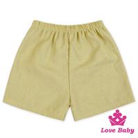 Fashion Gentlemen Boy Clothes Boutique Designer Plain Color Uniform Baby Shorts For Kids Panties Summer