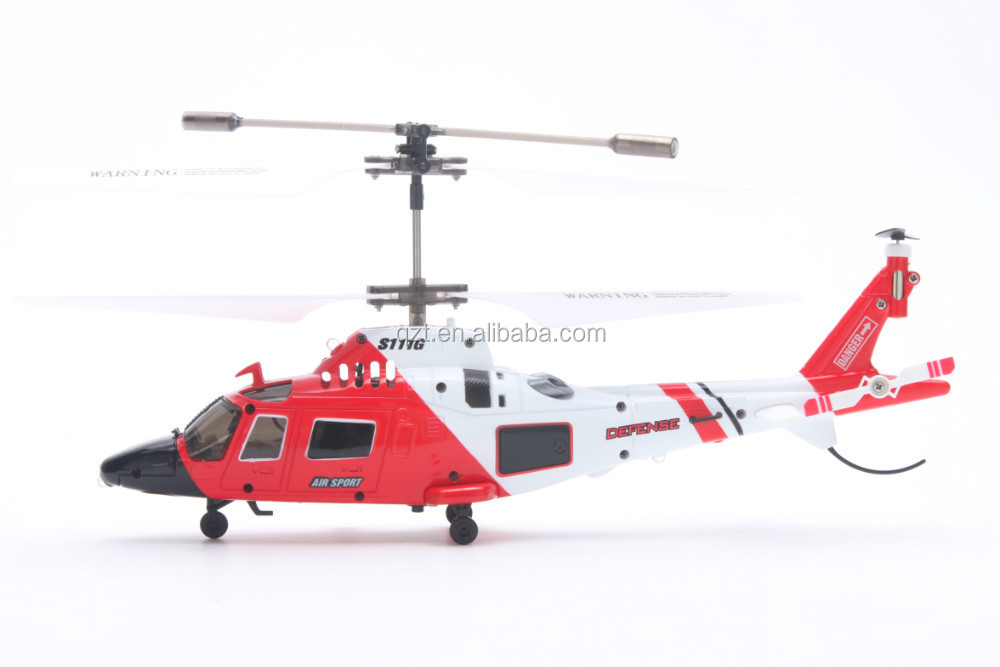 S111G Mini Coast Guard Rescue 21mm 3.5CH Indoor RC Helicopter with gyro remote controll helicopter Airplane