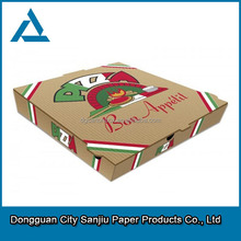 customized finland food cheap finland pizza box made in dongguan