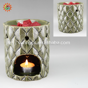 Factory production ceramic candle scented wax warmer with great price